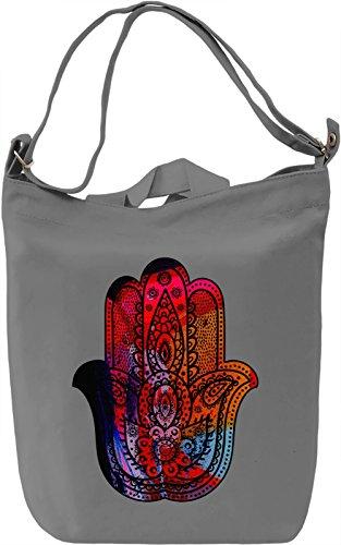 Divine Borsa Giornaliera Canvas Canvas Day Bag  100% Premium Cotton Canvas  DTG Printing 