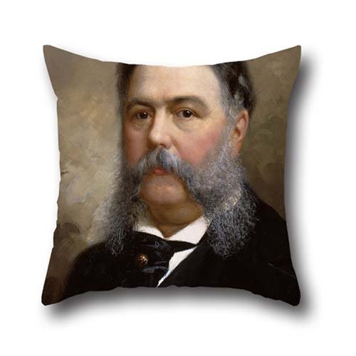 [20 X 20 Inches / 50 By 50 Cm Oil Painting Ole Peter Hansen Balling - Chester A. Arthur Pillow Cases ,each Side Ornament And Gift To Teens] (Hercules Costume Couple)