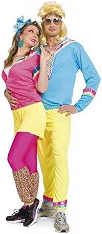 Folat 63325 - Disfraz de chándal de los años ochenta para mujer ...