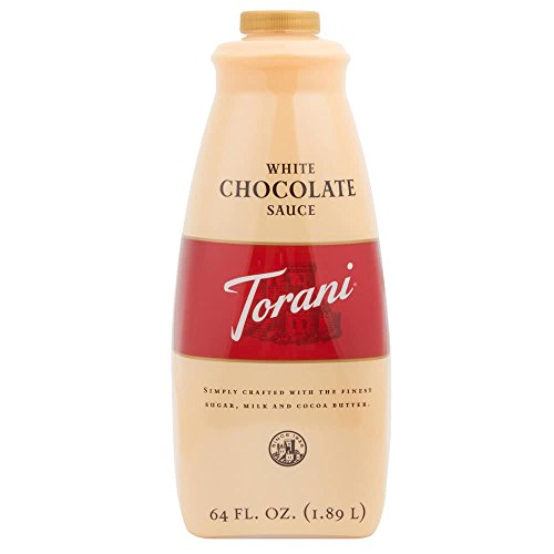 Torani White Chocolate Sauce, 64 Ounce ()