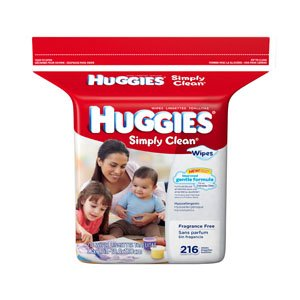 6943250 - Huggies Simply Clean Fragrance Free Baby Wipes