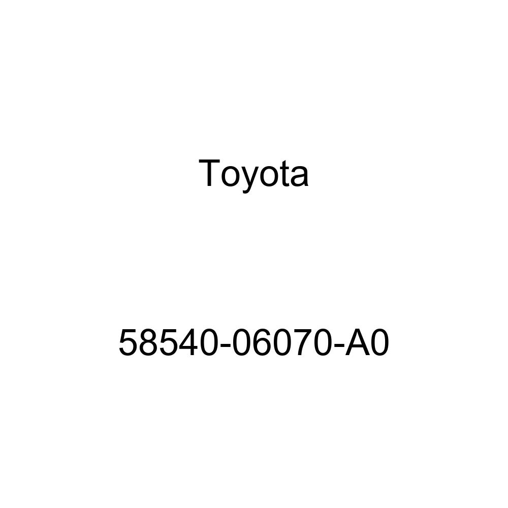 TOYOTA 58540-06070-A0 Floor Carpet Assembly