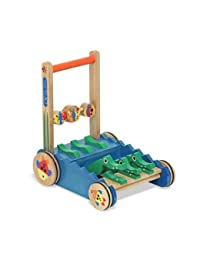 Melissa & Doug Deluxe Chomp and Clack Alligator Wooden Push Toy and Activity Walker BOBEBE Online Baby Store From New York to Miami and Los Angeles