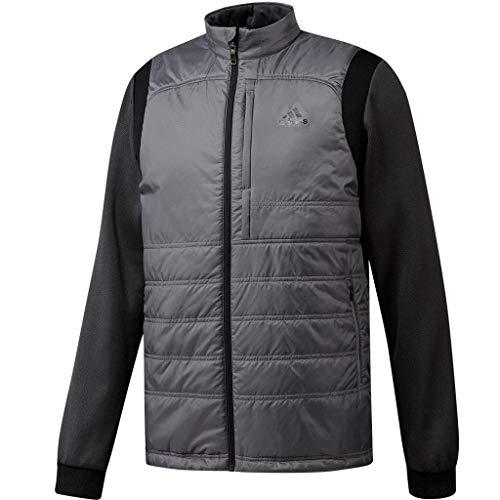 ea742b7c1fd adidas Golf 2019 Mens Climaheat Frostguard Primaloft Full Zip Golf Jacket  Grey Three XL