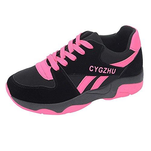 Dyeables Kids Shoe (Hydne Women's Breathable Lace-up Heighten Fashionable Shoes Sports Running Sneaker(40 M EU/8.5 B(M) US,)