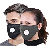 Xtore PM 2.5 Ultra Comfortable Anti Pollution Mask , Military Grade , Breathing Valve , Anti Dust , Prevents Perticulate Matter (1 PC)