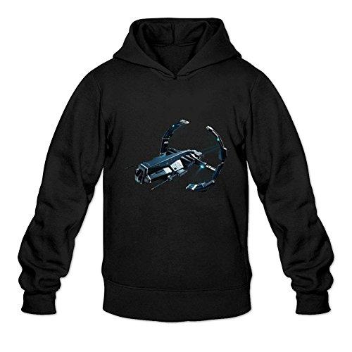 Uitgfgki Men's EVE Online Sweatshirt Hoodie M Black