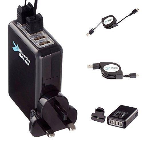 UltimateAddons 5 AM P 5 Puerto USB UK Fuente Cargador rápido ...