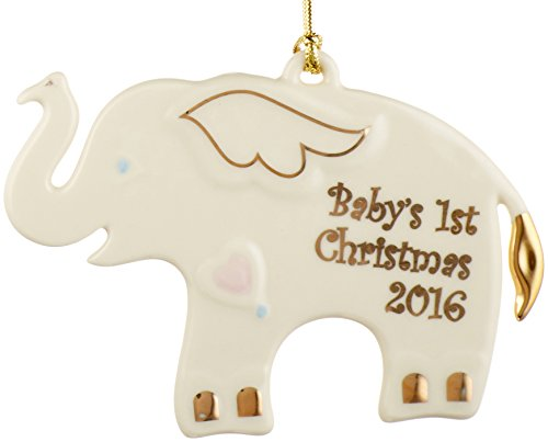 Lenox 2016 Baby's First Christmas Ornament