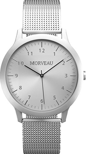 Morveau Men Refined Jetsetter Minimalist Watches - Luxury Watch Made from Aircraft Grade Aluminum