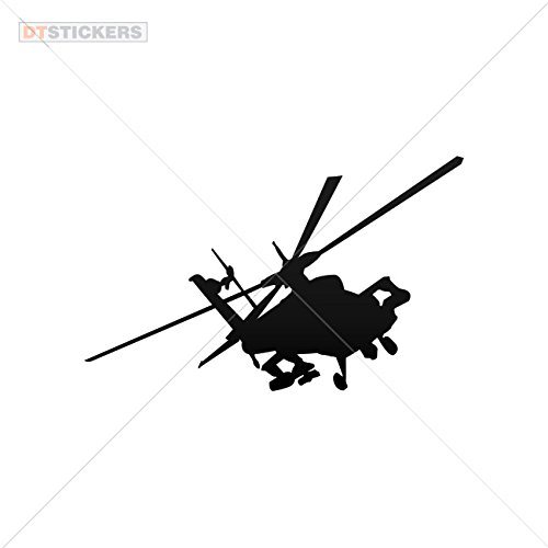 Decoration Vinyl Stickers Vinyl Apache Helicopter Raf Helmet Bike Decoration vinyl (12 X 7,41 In. ) Vinyl color Black