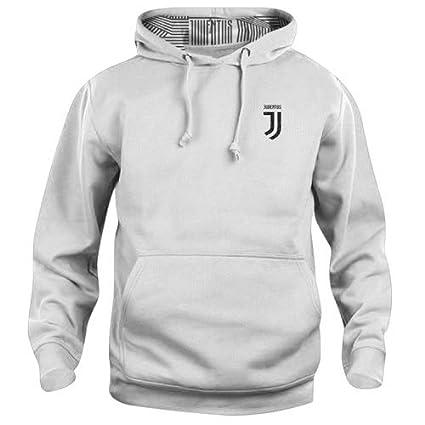 acquisto economico 21fa7 0a5f8 DIVASPORT Felpa Bianca Uomo 240/250 GR F.C. Juventus ...
