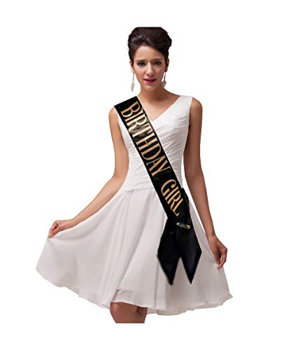 Birthday Sash For Women And Girls - The Perfect