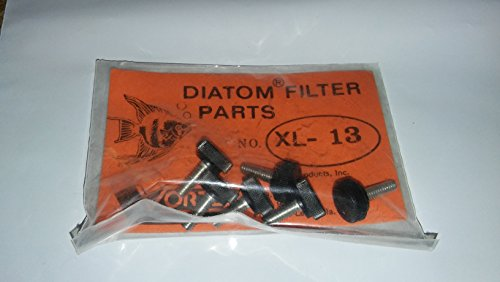 Image of Thimble Screw Filter Replacement part XL - 13, (6 Screws In One Package) By Vortex Made In The USA