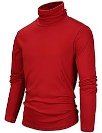 "<span class=""a-offscreen"">[Sponsored]</span>Men's Slim Fit Soft Turtleneck Long Sleeve Thermal T-Shirt"