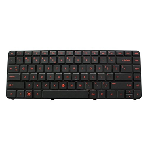 US Layout BacklitReplacement Keyboard ForHP Pavilion DM4-3000 DM4T-3000 DM4-3xxx Series DM4-3100 Series Compatible 90.4QC07.E01 SG-48110-XUA 670626-001 SN8423BLR (Hp Pavilion Dm4 Laptop Keyboard)