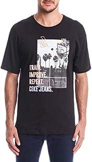 Camiseta Estampada COCA COLA JEANS Masculino