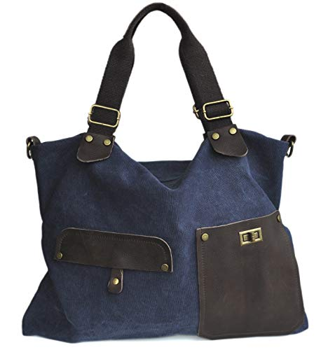 Lae In In, sac fourre-tout pour femme Blue Xxl