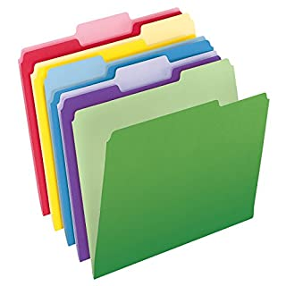 Pendaflex File Folders with InfoPocket, Letter Size, 1/3 Cut, Assorted Colors, 30 Folders per Pack (2086) (B000AN1QDM) | Amazon price tracker / tracking, Amazon price history charts, Amazon price watches, Amazon price drop alerts