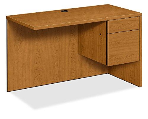 Desk Pedestal Left Return (HON Right Return Left Pedestal Desk, 48 by 24 by 29-1/2-Inch, Harvest)