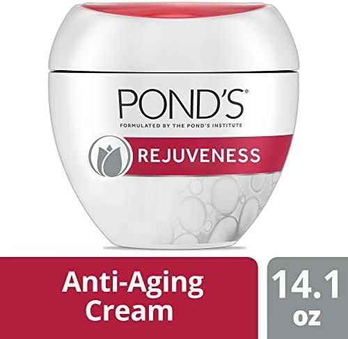 Pond's Rejuveness Anti Aging Face Cream for Fine Lines and Wrinkles with Alpha Hydroxy Acid and Collagen 14.1 oz (Packaging may vary)