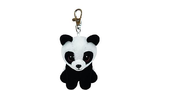 Amazon.com: TY Beanie Babies Baboo Clip de la panda felpa ...