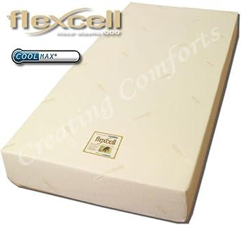 Espuma de memoria Flexcell 1000 colchón 20 cm de profundidad 10 cm visco en 10 cm reflex.