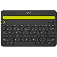 Logitech K480 Bluetooth Wireless Multi-Device Keyboard for Computers, Tablets & Smartphones (Black)
