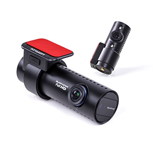 Blackvue DR650S-2CH IR inkl. 64GB Duale GPS Autokamera Dashcam Full HD Wi-Fi Cloud Dash-Cam