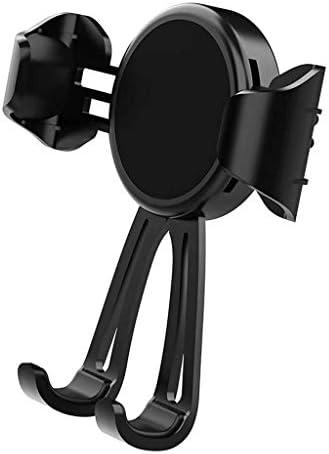 黒い人間の特徴をもつ車の電話ブラケット、安定した出口の携帯電話ブラケット車のブラケット360°スマートフォンのための調節可能なGPSブラケット金は電話を傷つけません