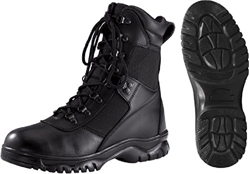Black Military Tactical Forced Entry Waterproof 8