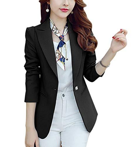 BoBo-88 Leisure Suit Donna Autunno Formale Camicia Button Monocromo Manica Lunga Bavero Casual Giaccone Di Alta Qualit
