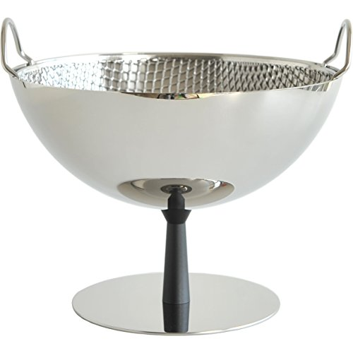 Alessi Fruit Bowl/Colander, Black Foot