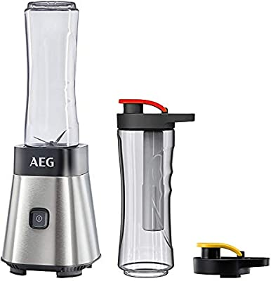 AEG SB2700 Batidora de Vaso Good To Go (300W, Modo Turbo, Cuchilla ...