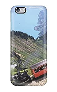 New UgTPjkp1129dJtse Train For Tourists Tpu Cover Case For Iphone 6 Plus