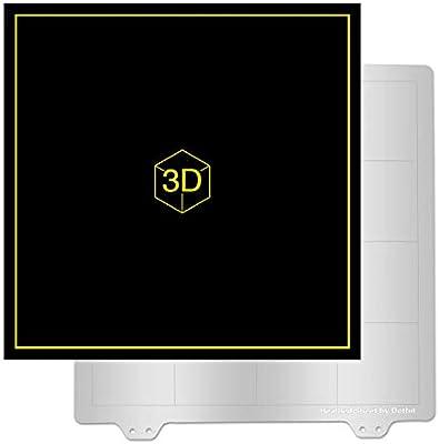 ACAMPTAR Accesorios De Impresora 3D 235X235Mm Placa De Acero De ...