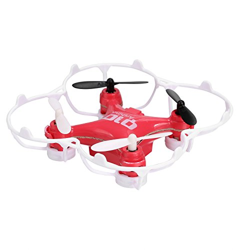 Tinfancy CX-10 Mini Drone RC Quadcopter LED 6-Axis Gyro 4CH 2.4GHz CF Mode 360° Eversion Beginner by Tinfancy