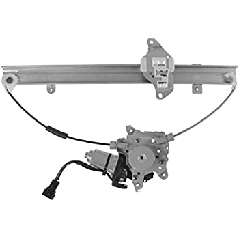 amazon com dorman 751 211 nissan versa front driver side powerpower window regulator with motor front lh left driver side for nissan versa