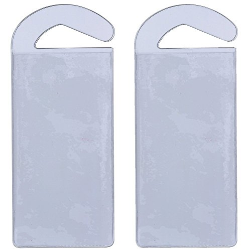 CloseoutZone Handicap Permit Placard Protective Holder Set of 2 (Placard Set)