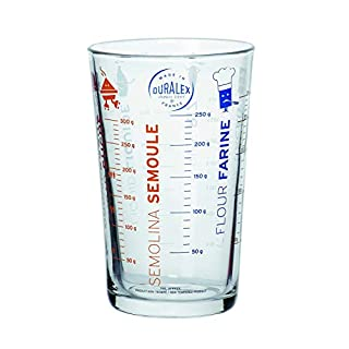Duralex - 5004AM12 - Precisio Transparent Glass Measuring Jug - 9 cm