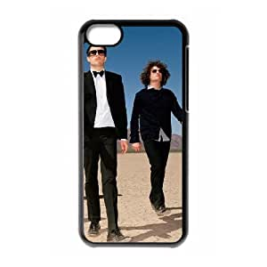 iPhone 5c Black Cell Phone Case HUBYLW2912 The Killers Generic Phone Case Cover For Girls