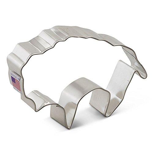 Ann Clark Buffalo Cookie Cutter - 4.25 Inches - Tin Plated Steel