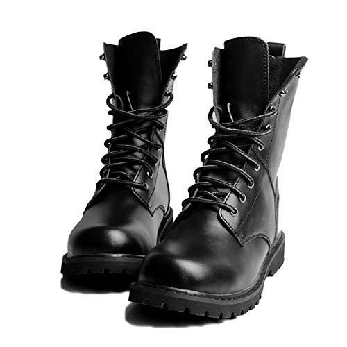 da Impermeabile Pelle Leggero Antiscivolo di Scarpe High Stivali Inverno Uomo Uomo Black Ginnastica Stivali Dewalt Scarpe E Sicurezza Autunno Top da in qFX6SqwU