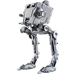 .com: LEGO Imperial All Terrain Scout Transport (AT-ST): Toys & Games