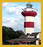 Gift Trenz Harbour Town Lighthouse Magnetic Bookmark
