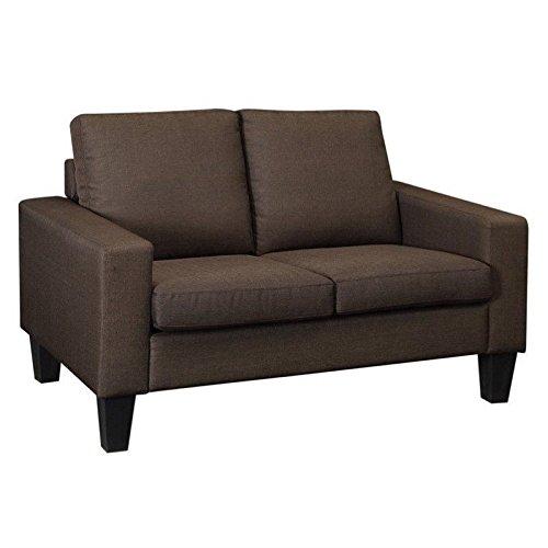 Coaster 504768 Home Furnishings Love Seat, Chocolate