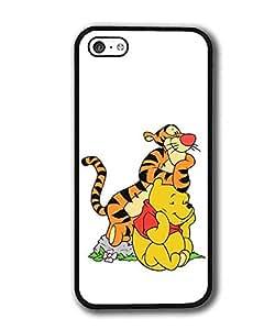 Iphone 5C Cover Case Tigger Disney Mirror Liquid Cartoon Movie Design For Iphone 5C