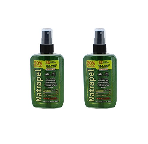 Natrapel 12 Hour Tick and Insect Repellent Pump 3.4 Ounce (Pack of ()