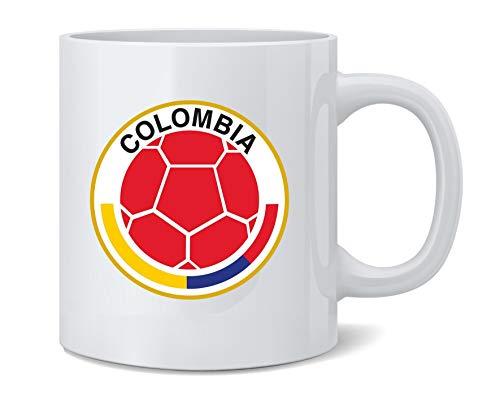 (Colombia Futbol Soccer National Team Crest Coffee Mug Tea Cup 12 oz )