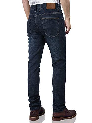 Regolari Casual Bobo Blau Stile Da 88 Aderenti Vintage Eleganti Pantaloni Elasticizzati Denim Jeans Uomo Estilo Especial qqYXfS